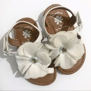 Flowers by Nina - Flower Baby Girl Sandals Size 5